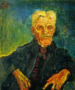 Oskar Kokoschka Oude man