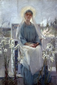 Sarah Paxton Bell Dodson - Meditation of the Holy Virgin 1889