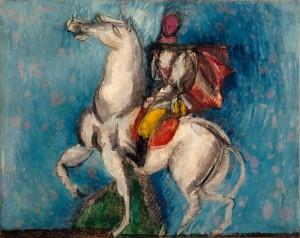Raoul_Dufy,_1914,_Le_Cavalier_arabe_(Le_Cavalier_blanc),_oil_on_canvas,_66_x_81_cm,_Musée_d'Art_Moderne_de_la_Ville_de_Paris..