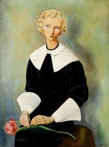 moise kisling jeune suedoise, ingrid 1932