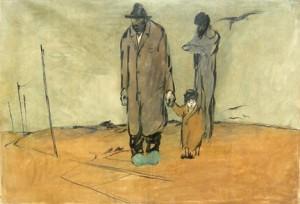 lorenzo Viani-famiglia-di-poveri