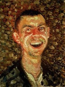 richard gerstl Self-Portrait-Laughing (1)