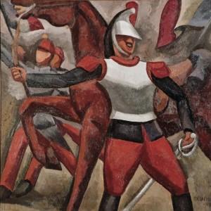 Roger de la fresnaye - the cuirassier - 1910