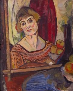 Suzanne Valadon autoportrait_1927