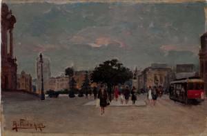 Praça Ramos de Azevedo - Adolpho fonzari